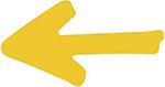 Imagen de una flecha apuntando hacia la izquierda